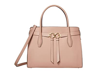 Kate Spade New York Toujours Large Satchel (Flapper Pink) Bags