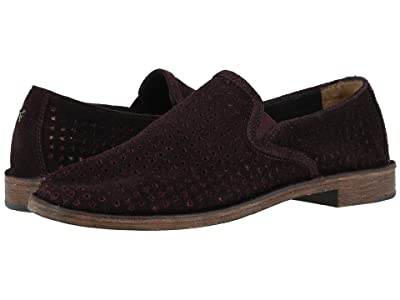 Trask Ali Perf (Wine English Suede) Women