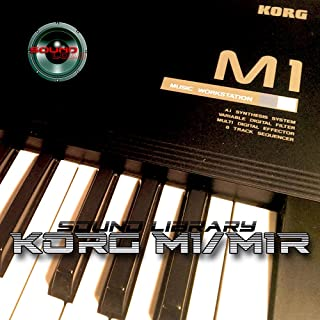 KORG M1/M1R - Large Original Factory & NEW Created Sound Library/Editors on CD or download