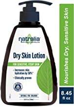 Natralia Dry Skin Lotion, Fragrance-Free Hand & Body Lotion, 8.45 Ounce