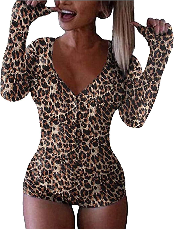 Women Teen Girls Pajamas Homewear,Bodycon Rompers Slim-Fit Bodysuits Sexy Sleepwear Nightwear Ladies Jumpsuits Playsuit