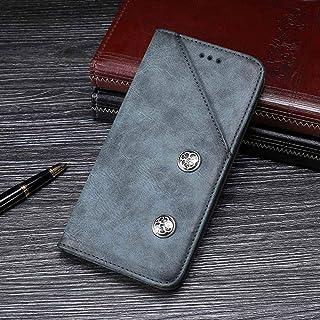 حافظة لهاتف نوكيا 6.1 بلس محفظة جلدية قابلة للطي لهاتف نوكيا 6.1 بلس حافظة حماية للهاتف بتصميم انسيابي Nokia 6.1 Plus PC-YJ