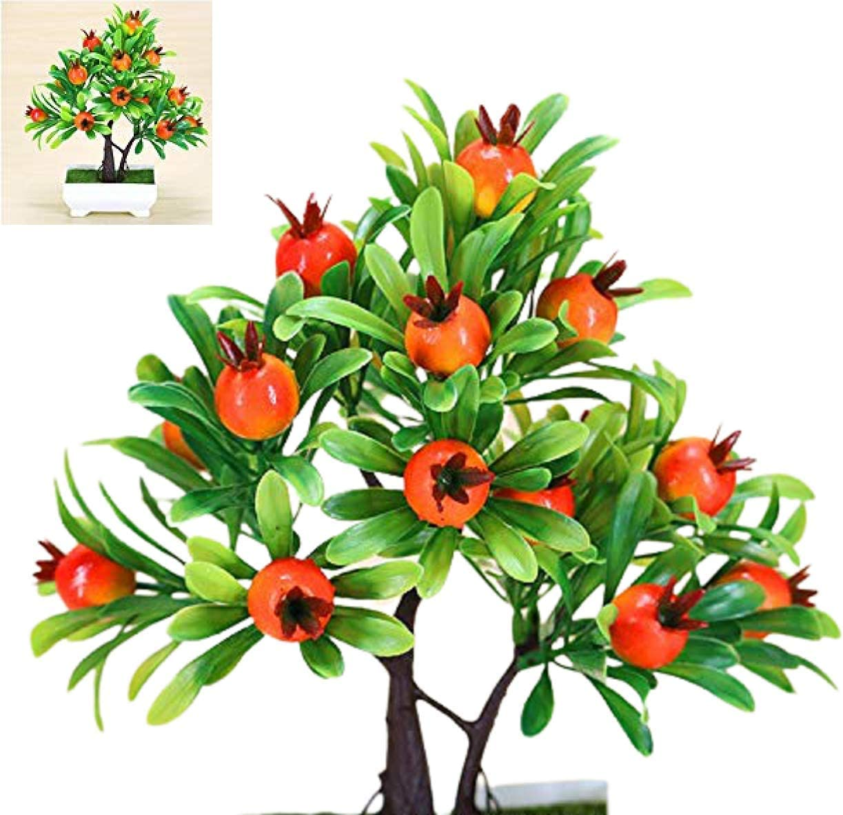 HAS Mountain - Artificial Large discharge sale Plants Simulation Bonsai Small Po Choice Tree
