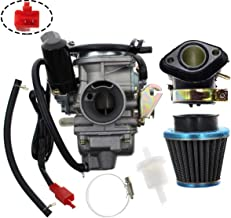 Carbhub PD24J Carburetor for GY6 125cc 150cc Go Kart Scooter 152QMI 157QMJ Carb with Air Filter Intake Manifold