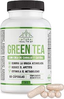 comprar comparacion Té verde con cola de caballo y cafeína para eliminar la grasa acumulada - Adelgazante que contribuye a acelerar el metabol...