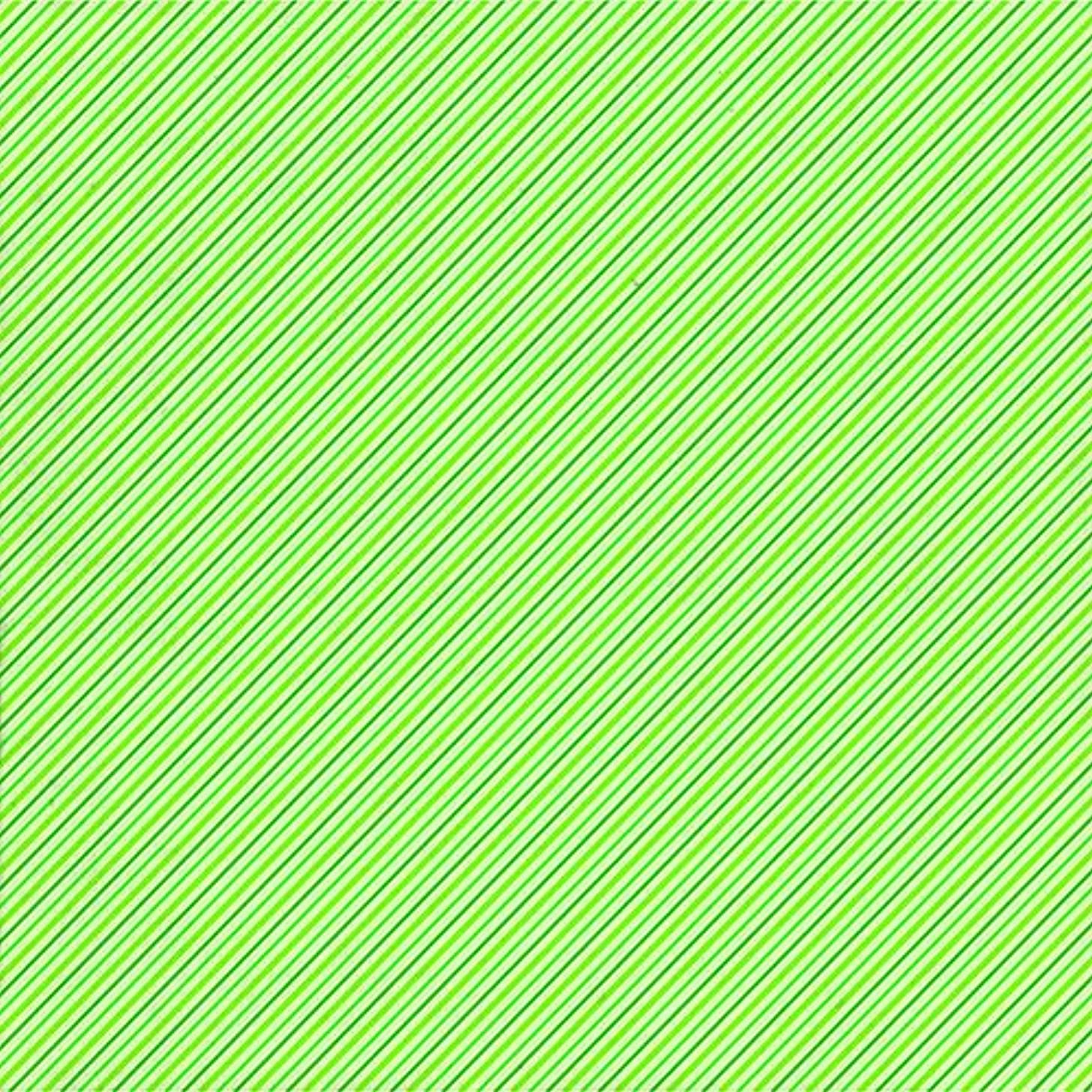 American Crafts 15 12 x 12 Inch St Patrick Stripes Paper Pack by Die Cuts with a View Piece