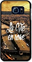 La Vie en Rose Paris France Retro Vintage Cool Fashion Design case for Samsung Galaxy S6 Edge