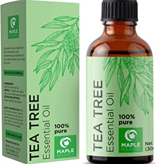 100% Pure Tea Tree Oil Natural Essential Oil with Antifungal Antibacterial Benefits for..