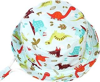 Viaggio Regolabile con Sottogola Cappello da Spiaggia Protezione Solare UPF50 Anti-UV Berretto per Bambino Ragazze Ragazzi Cappello da Sole per Piscina Pesca