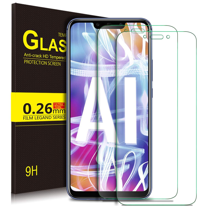 KuGi Huawei Mate 20 Lite Protector de Pantalla, Huawei Mate 20 Lite Cristal Templado [9H Dureza] [Alta Definicion] Protector de Pantalla para Huawei Mate 20 Lite (Paquete de 2): Amazon.es: Electrónica