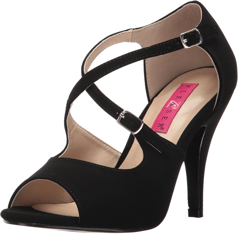 Pleaser Womens Dre412 Bnb Dress Sandal