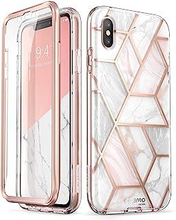 i-Blason Funda iPhone XS MAX [Serie Cosmo] 360 Grados Case con Protector de Pantalla Incorporada para el Apple iPhone XS MAX 6.5