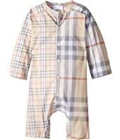 Burberry Kids - Colton Check One-Piece (Infant)