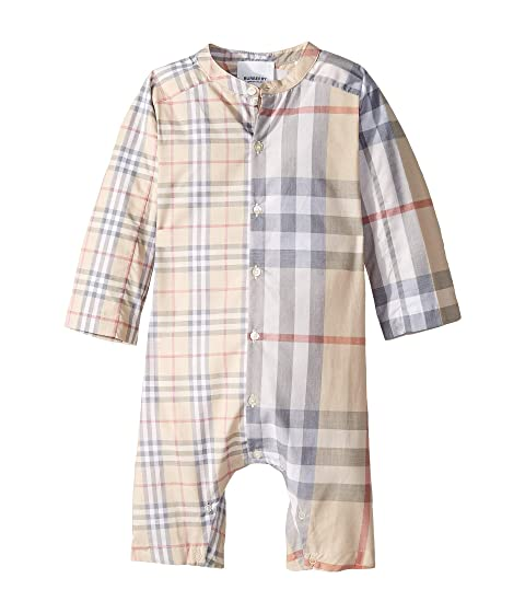 Burberry Kids Colton Check One-Piece (Infant)