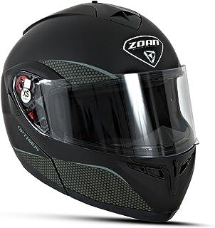 Zoan Synchrony Solid Gloss Black Dual Sport Adventure Snowmobile Riding Helmet Medium Motorcycle & ATV