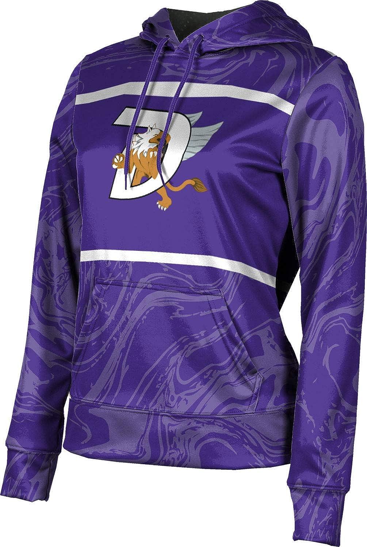 ProSphere Dutchtown High School Girls' Pullover Hoodie, School Spirit Sweatshirt (Ripple)
