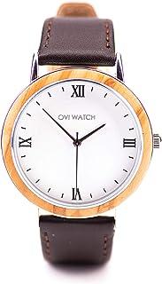Ovi Watch - Relojes de Madera - Simple y elegante para los que aprecian los productos naturales y hechos a mano