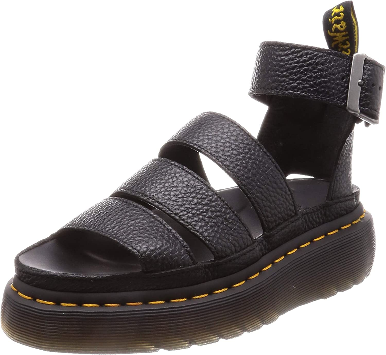 Dr.Martens Womens Clarissa II Quad Aunt Sally Leather Sandals