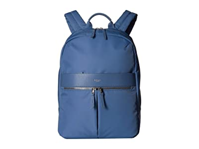 KNOMO London 14 Beauchamp Backpack (Cornflower Blue) Backpack Bags