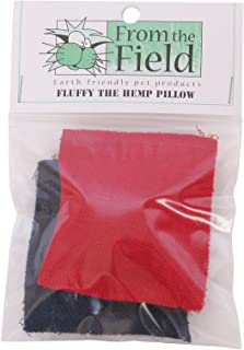 From The Field 2-Pack Fluffy The Hemp Pillow Catnip Toy