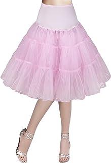 6bef9f411 Flora® 50s Vintage Rockabilly Petticoat Skirt, 25