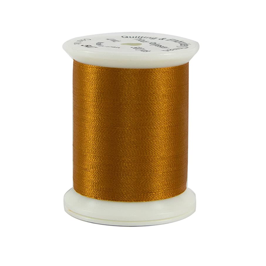Superior Threads 12201-547 Nature Colors Curry 40W Polyester Thread, 500 yd