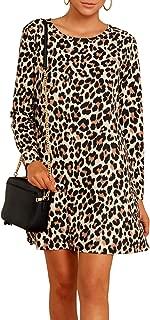 rainbow leopard print dress