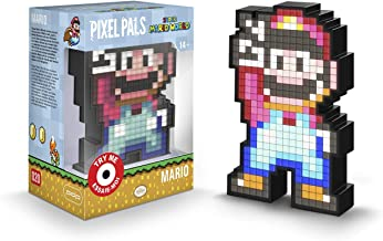 PDP Pixel Pals Nintendo Super Mario World Mario Collectible Lighted Figure, 878-041-NA-SMAR - Not Machine Specific