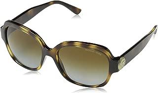 Men,Women MK2055 56 SUZ Tortoise/Brown Sunglasses 56mm