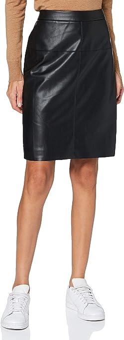 APART Fashion Fake Leather Skirt Gonna Donna