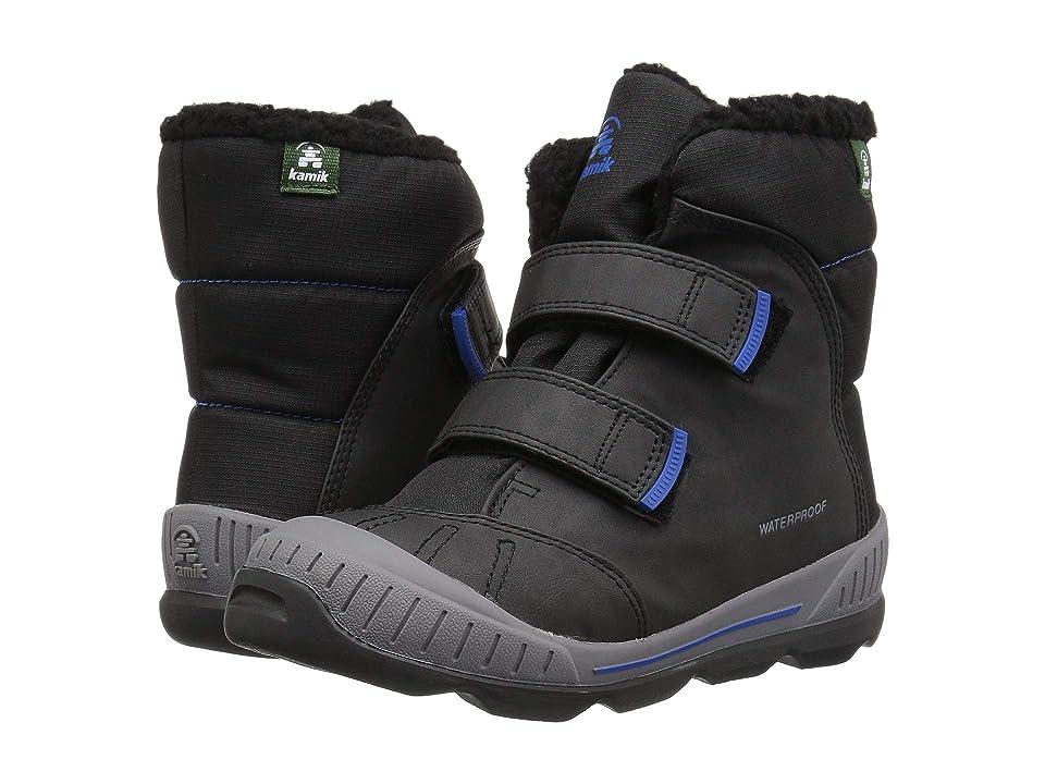 Kamik Kids Parker 2 (Toddler/Little Kid/Big Kid) (Black/Blue) Boys Shoes
