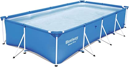 """Bestway Steel Pro 13' x 7' x 32"""" Rectangular Above Ground Swimming Pool (Pool Only)"""