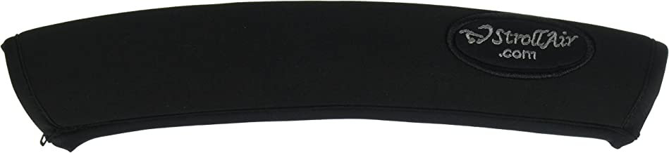 StrollAir 12 inch Long Universal Handle Sleeve Cover, Black, 12