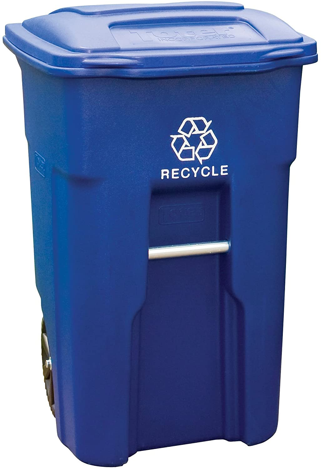 Toter 48 Gallon Blue Recycling Sale price Wheels with Container and Year-end gift Lid