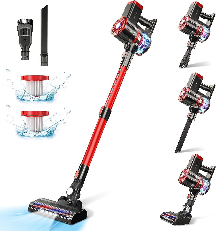 PRETTYCARE  180W  W100  20KPa Stick Vacuum Cleaner $71  Coupon