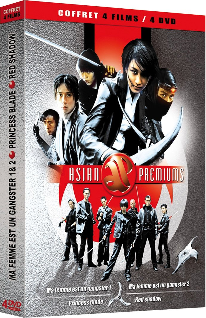 Coffret Asian Premiums Spring new work one after NEW before selling another 4 DVD - Action un Ma : Femme Gangster est
