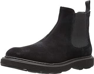 Emporio Armani Men's Casual Chelsea Boot Construction Shoe Black 8 Regular UK (9 US)