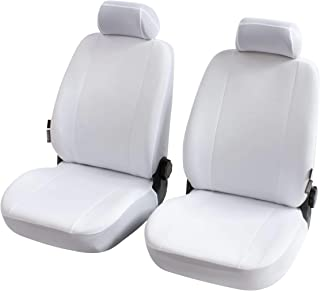 Walser Nerja 13149 Car Seat Cover for 2 Front Seats White