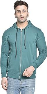DAGCROS Men's Hoodies Regular Sweatshirt Hoodie Zipper Hooded