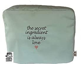 Cozycoverup - Funda protectora para mezclador de alimentos Kenwood en Secret Love (cocinero de cocina KM096 KM083 KCC9060S, huevo de pato)