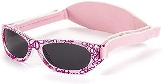 Gafas de sol Baby para bebés, NIÑAS chicas, desde 0 meses a 2 años, 100% protección UV, MUY CÓMODAS gracias a la SUAVE banda ajustable, el regalo ideal para recién nacidos.