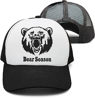 Youmaosy Street Dancing Cap Cool Beard Sunglasses Unisex Adjustable mesh Baseball Hat