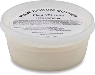 Raw Kokum Butter 8 oz Premium 100% Pure Natural Cold Pressed Skin, Body and Hair.