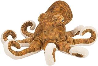 """Wild Republic Octopus Plush, Stuffed Animal, Plush Toy, Gifts for Kids, Cuddlekins, Brown, 12"""""""