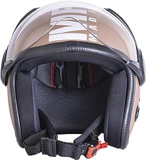 Sepia Muscle Rider Open Face Helmet (Desert Storm Matt, M)