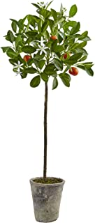 Nearly Natural 5484 38'' Potted Orange Tree