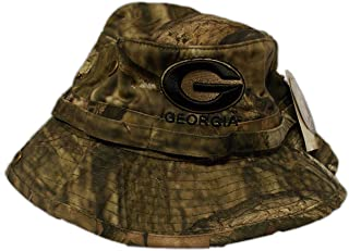 Georgia Bulldogs Youth Woodsmen Mossy Oak Bucket Hat