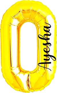DBC Retail Customized Number Foil Balloon Digits for Birthday, Baby Shower, Anniversary Celebration and Party Decorations...