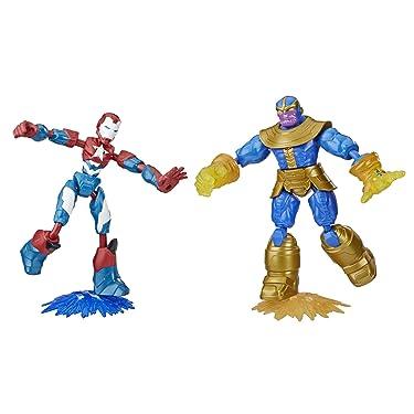 Marvel Avengers Bend and Flex Iron Patriot vs Thanos