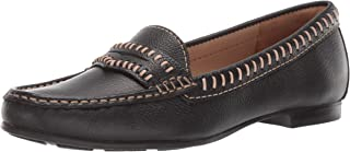 Driver Club USA Womens Leather Made in Brazil Maple Ave Loafer